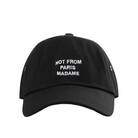 Drôle De Monsieur Nfpm Cap - Black