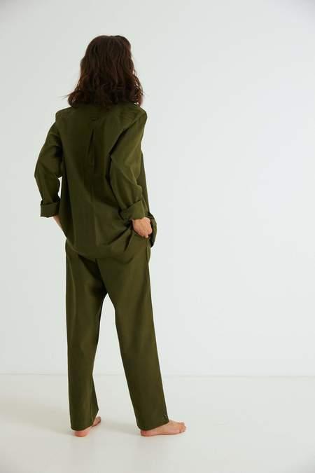 General Sleep Brushed Cotton Classic Set - Moss