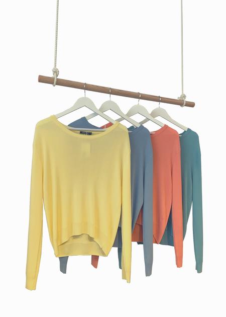 Dona Lim Rib knit sweater