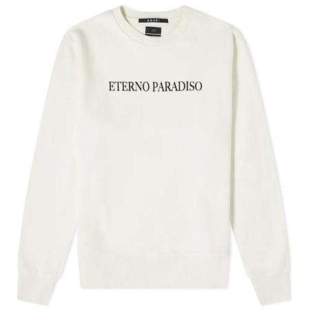 Ksubi After Hours Crew Bleached sweater - White