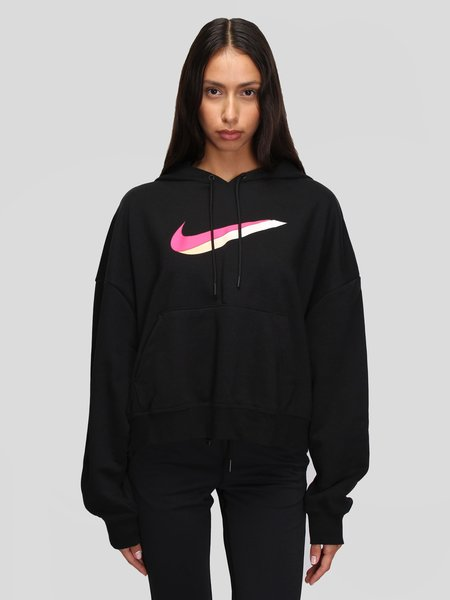 Nike W Icon Clash Fleece Hoodie - Black/Multi