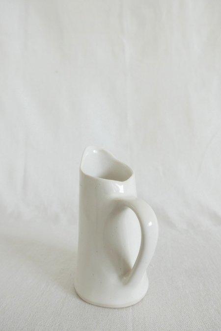 Mervyn Gers Milk Jug - White Glaze