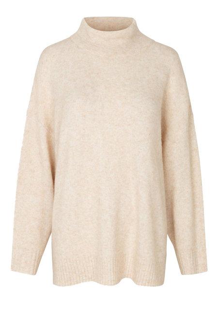 Just Female Unite Knit Sweater - Ivory