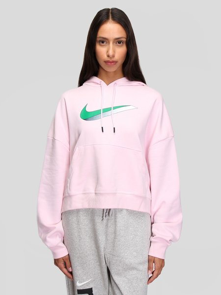 nike W Icon Clash Fleece Hoodie - pink/multi