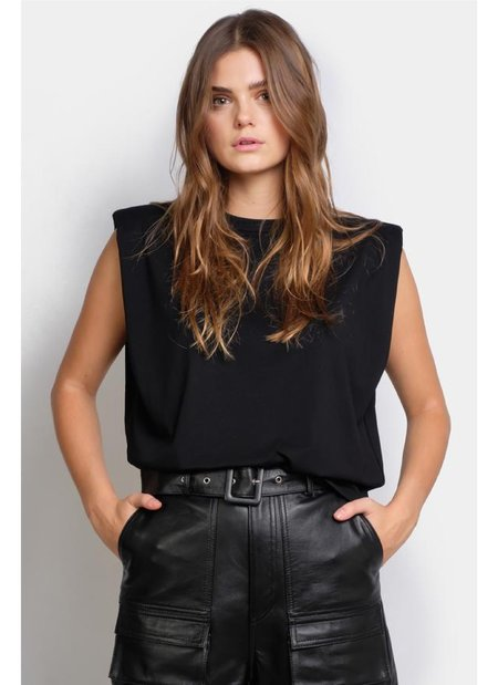 Ducie Saskia top - Black