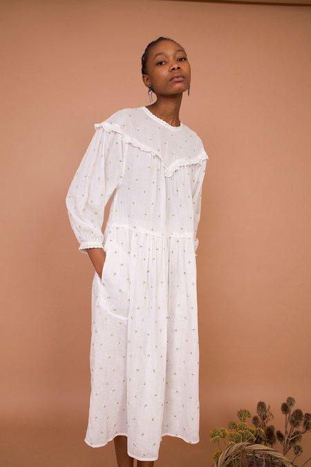 Meadows CAMELLIA DRESS - DAISY EMBROIDERY