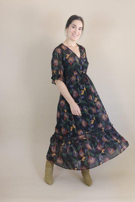 Orfeo Candy Midi Dress - Romance Seventies