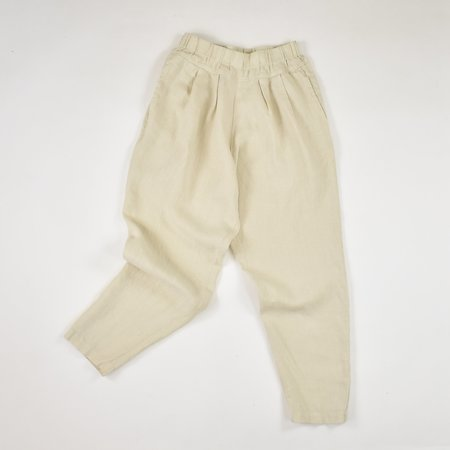 Black Crane Carpenter Pants - Cloud