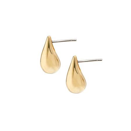 Soko Mini Dash Stud Earrings - 24k gold plated brass