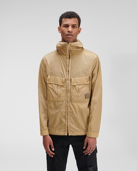 C.P. Company Metropolis Series Chrome-R Hooded Overshirt jacket - brown