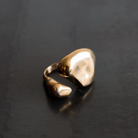Faris Nug Ring Bronze