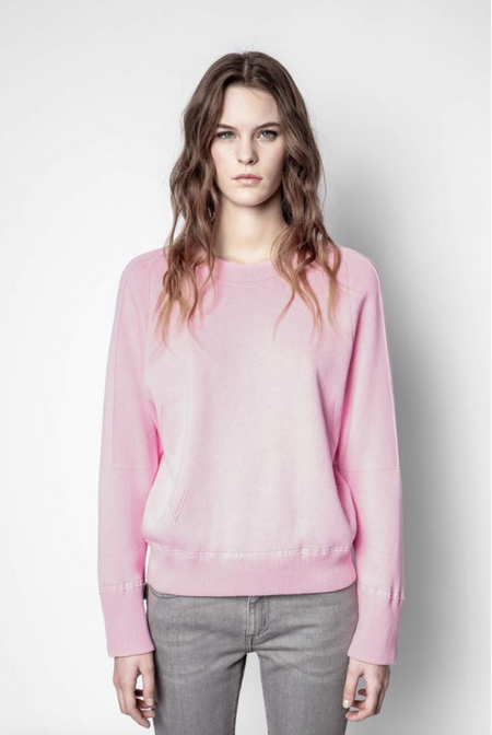 Zadig and Voltaire Montana Sweater - Pink