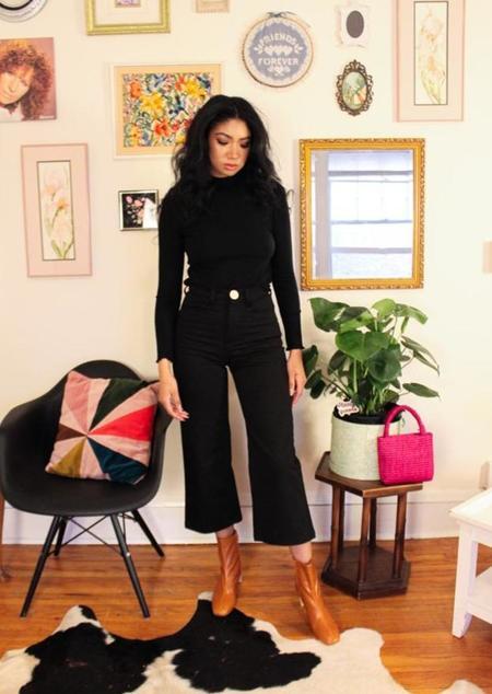 Whimsy + Row Flora Pant - black