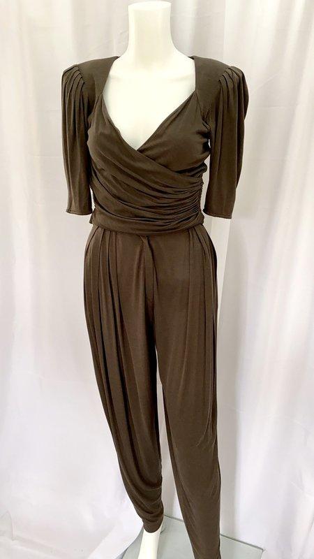 Luca Ryann 90's Emanuel Ungaro Silk Jersey Harem Set