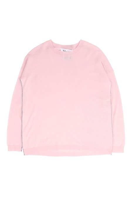 Paychi Guh L/S Textured Crew Sweater - Fluff