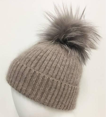 Linda Richards Fur Pom Hat