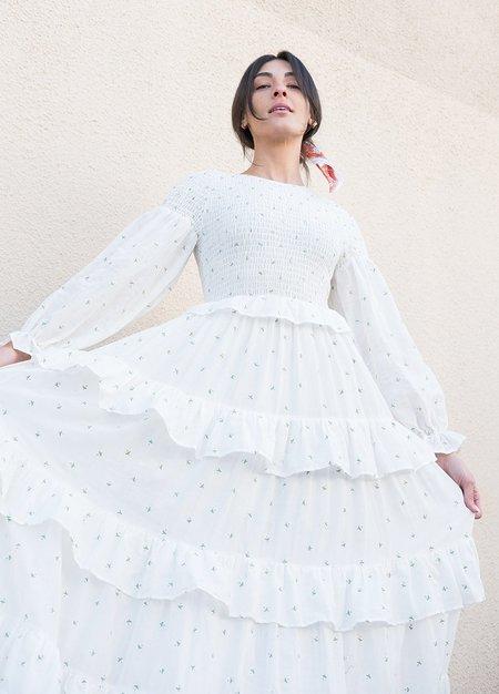 Meadows Rosa Maxi Dress - White