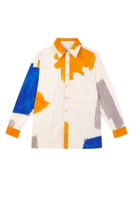 L.F.Markey Carlo Shirt - Brushstroke