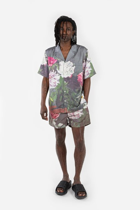 Soulland Orson Shirt - Green AOP
