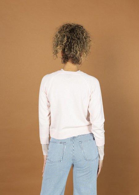 Brazeau Tricot Cashmere Sweatshirt - talc