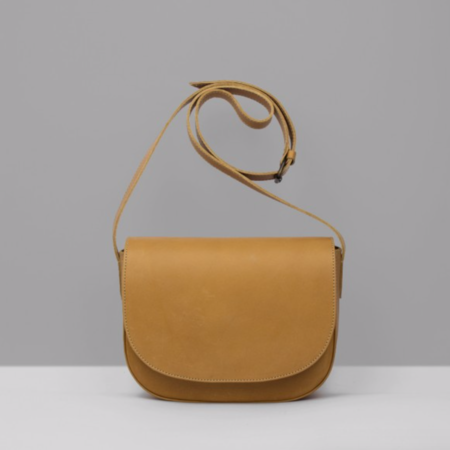 Le Bas Leather Shoulder Bag - Tan