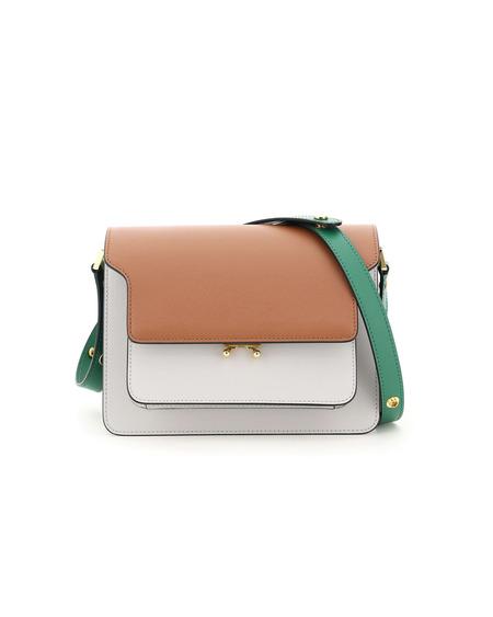 Marni Trunk Medium Leather Bag - Multicolor