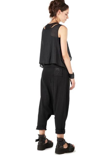 Studio B3 Corso Dropseat Jersey Pants - Black