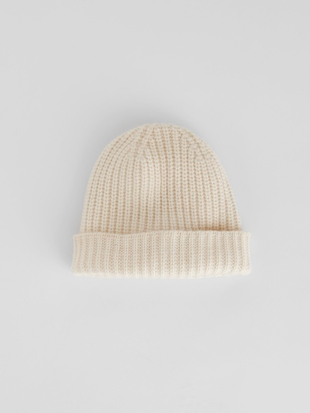 Alex Mill Cashmere Beanie - Chalk