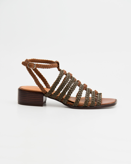 Naguisa Vei Sandals - Olive