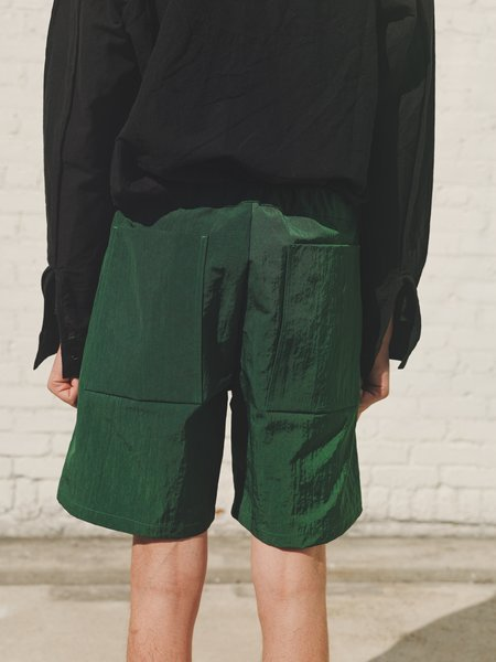 MAN-TLE R10 Nylon Shorts - Canopy