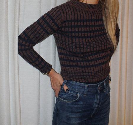 Micaela Greg Speckled Sweater