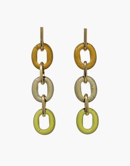 Cled ITL Trio Earrings - Earth Multi