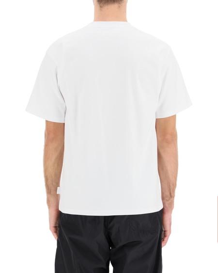 GCDS Rubberized Logo T-shirt - white