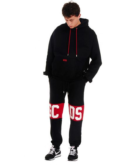 GCDS Logo Jogger Pants - Black
