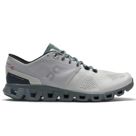 ON Running Cloud X Sneaker - Glacier / Olive