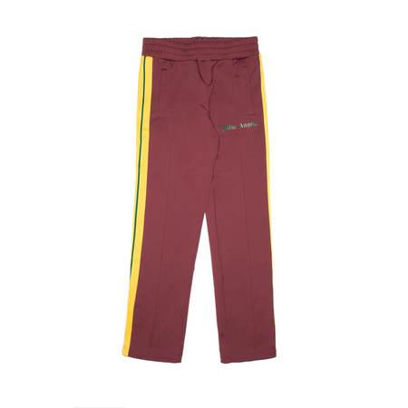 PALM ANGELS College track pants - Burgundy