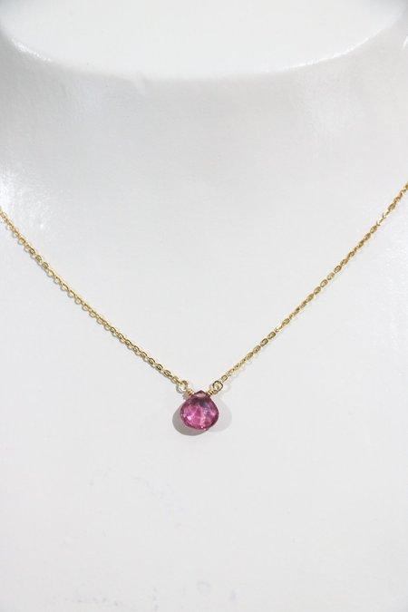 [Pre-loved] Perlina Pendant Necklace - Tourmaline