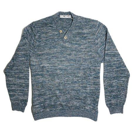 Inis Meáin Hurler Sweater - Seal