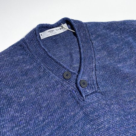 Inis Meáin Hurler Sweater - Speedwell