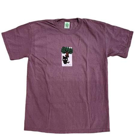 Frog Jesse Alba Spider Monkey T-Shirt - Berry