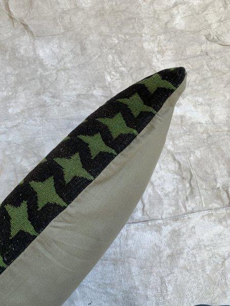 Cuttalossa & Co. Star Throw Pillow - Deep Green