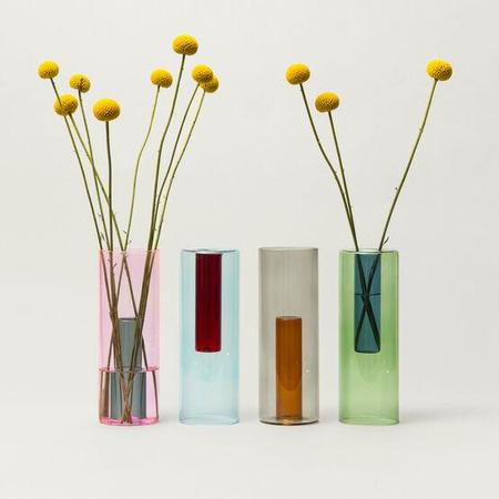 Block Design Large Reversible Vase