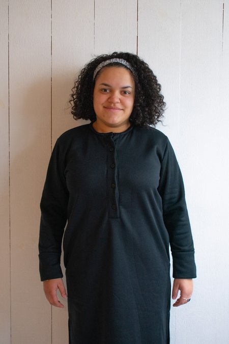 Conrado Varon Sweatshirt Dress - Black