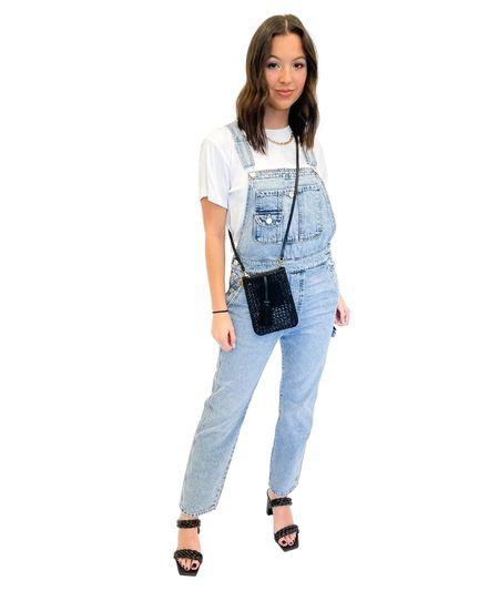 Mother Denim The Scrapper Overalls - Win Some, Loose Some