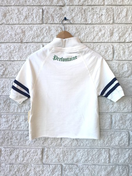 Prefontaine Jersey Tee - Porcelain/Navy