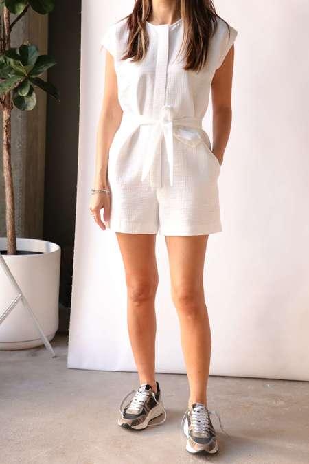 Rachel Comey Vico Shortsuit - White