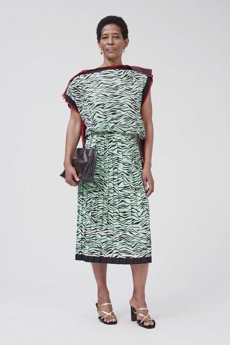 Rachel Comey Pair Dress - Mint Zebra Foulard
