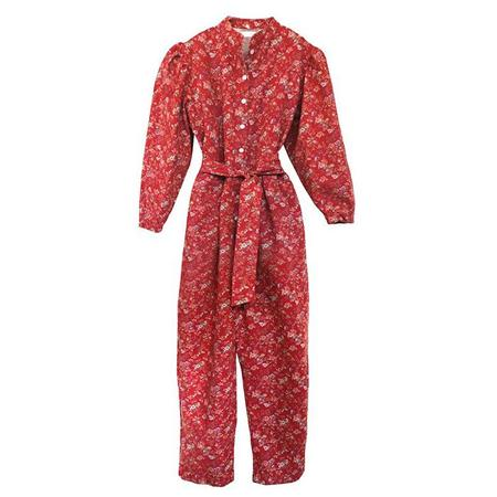 Nico Nico Selma Jumpsuit With Floral Print - Red