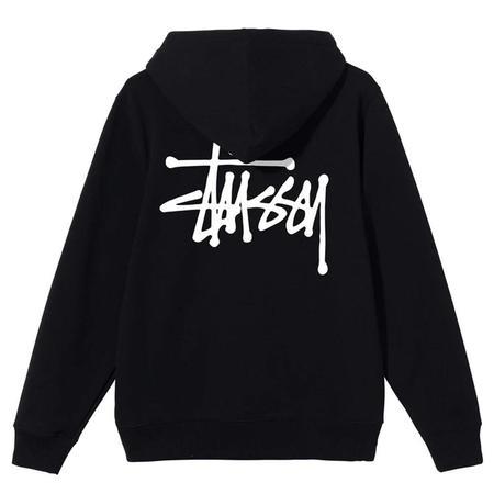 Stussy Basic Stussy Hood sweater - Black