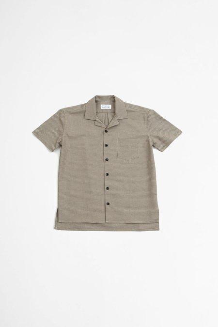 Libertine Libertine Cave S/S shirt top - brown check II